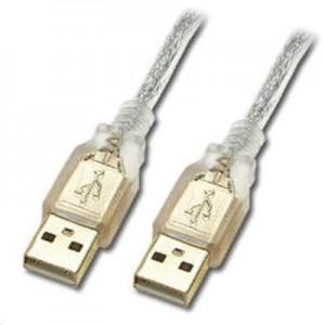 5M USB 2.0 A/M - A/M Transparent Cable