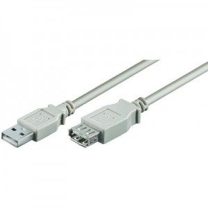 5M USB A - A M/F Cable